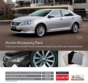 Toyota Aurion from Sydney City Toyota