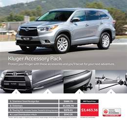 Toyota Kluger from Sydney City Toyota