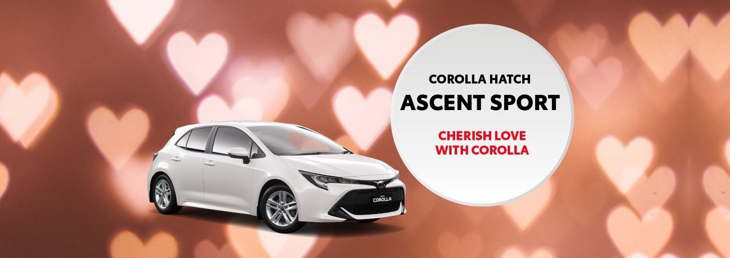 Celebrate Love with New Corolla