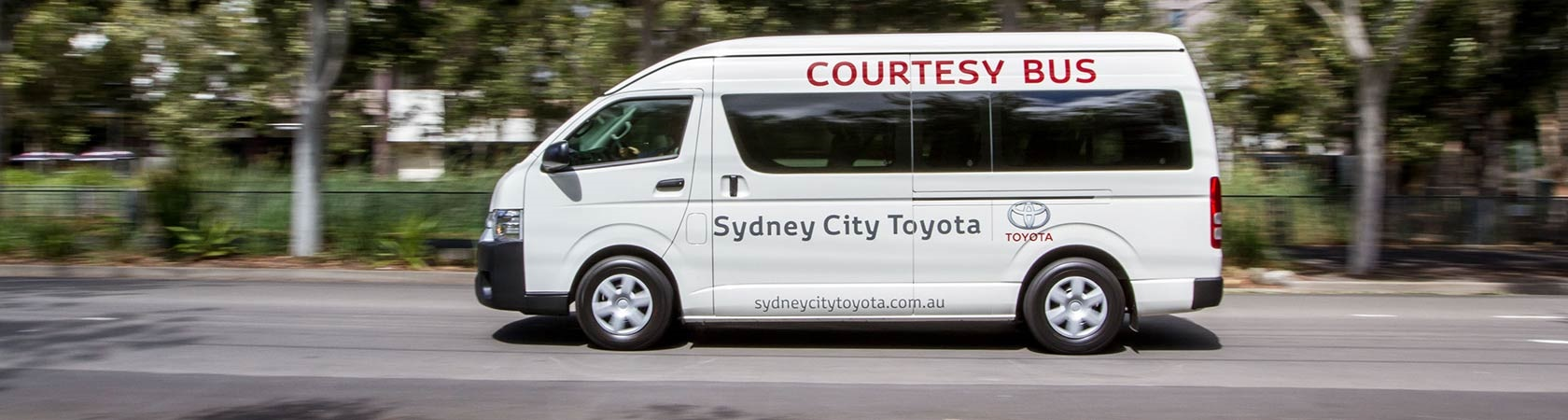 Sydney City Toyota Courtesy Bus